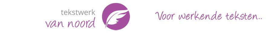 Tekstwerk van Noord logo